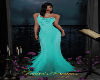 THANA GOWN - TEAL