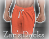[ZAC] Shorts Terracotta