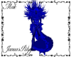 Blue Plushy Demon