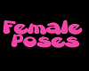 J's Female Pose sign