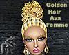 Golden Hair Ava Femme