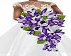Wedding Bouquet Purple