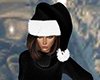 Black Santa Hat (F)