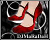 [dj]Dark Christmas pumps