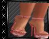 Red Swirly Heels