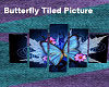 Tiled Butterfly Picture