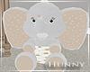 H. Stuffed Elephant