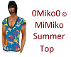Mimiko Summer Male Top