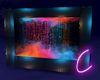 Neon Waterwall