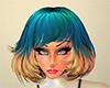 Tutu Hair Blue/Blond