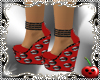 CH lips Red Kiss Shoes