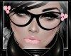 {D} CatEye Glasses PINK