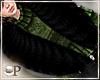 Fancy Black Fur Scarf