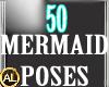 50 MERMAID POSES