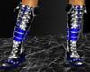 [DA]blue strapped boots