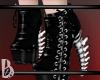 {B} Bone Heels