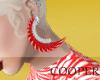 !A Adva earrings red