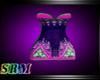 Zel Mini Dress Colorful