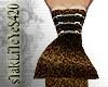 *Cheetah* Corset Dress