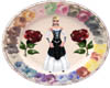 Country Rose plate