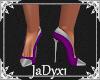 Purple & Silver Stiletto