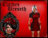 BS* AF Red/Grey Dress
