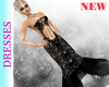 Black Fishtail Gown