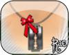 R| Razor Bow Necklace