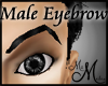 MM~ Eyebrow Black Male