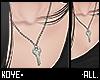 """K"""" Necklace key"""