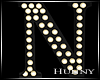 H. Marquee Letter N