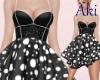 #A V Babe Dress #BK