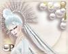 Snow Queen Veil Crown