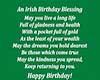 NIX~Irish Birthday Bless