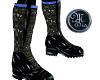 (MSis)Blk Blue Sen Boots