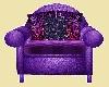 Purple Family Pose Chair