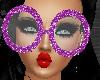 *Dork Violet Glasses