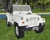 Lakeland White Jeep