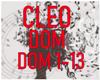 CLEO - DOM 1-13