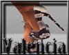 {CV}snakeskin heels