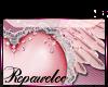 *R* Winged Heart Sticker