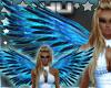 Blue Sparkle Wings