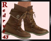 Camping Brown Boots