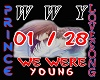WE WERE YOUNG / LOVESONG