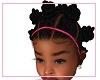 Kids Bantu Knots Pink