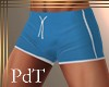 PdT Turq Swim Trunks M