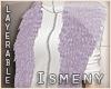 [Is] Fur Shrug Lilac