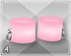 A| Pink Anklets (F)