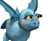 Baby Blue Baby Dragon
