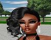 black ladyhot hair